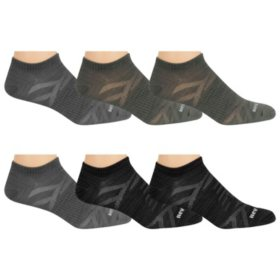 160031a5c6e19 New Balance Men's 6-Pack Flat Knit No Show Socks - Sam's Club