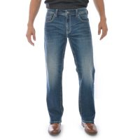 Deals on Axel Mens Slim Boot Cut Jeans