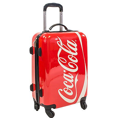 """Coca-Cola 21"""" Hard Case Spinner Luggage"""