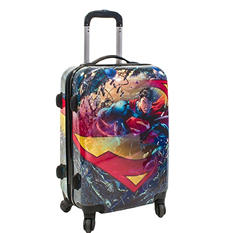 "Superman 21"" Hard Case Spinner Luggage"