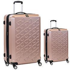 fūl Sunglasses Hard Case Spinner Luggage 2-Piece Set