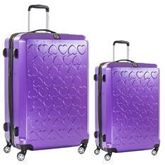 fūl Hearts Hard Case Spinner Luggage 2-Piece Set