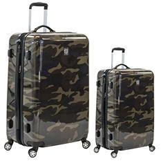fūl Camouflage Hard Case Spinner Luggage 2-Piece Set