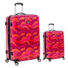 fūl Sunset Hard Case Spinner Luggage 2-Piece Set