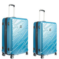 fūl Scribble Hard Case Spinner Luggage 2-Piece Set