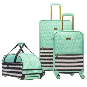 detailed look top-rated authentic famous designer brand Macbeth Madison 3-Piece Luggage Set - Sam's Club