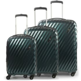 FUL Marquise Series Hardsided 3 Piece Luggage Set