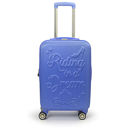 "Ful Disney Princess Cinderella Hard-Sided 21"" Carry On Luggage"