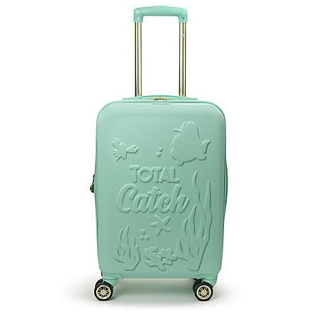 "FUL Disney Princess Ariel Little Mermaid Hardsided 21"" Carry On Luggage"