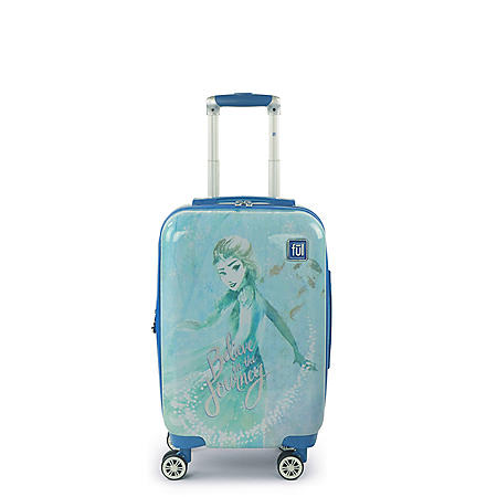 FUL Disney Frozen 2 Elsa Believe in the Journey 21in Luggage Spinner