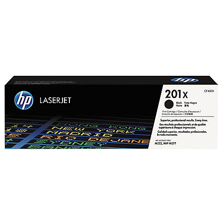 HP 201X Original Laser Jet Toner Cartridge, Color (2,800 Page High Yield)