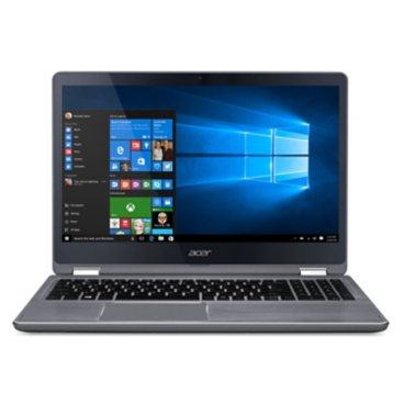 "Acer 2-in-1 Touchscreen Convertible 15.6"" Full HD IPS Notebook, Intel Core i7-7500U Processor, 12GB Memory, 1TB Hard Drive, Windows 10 Home"