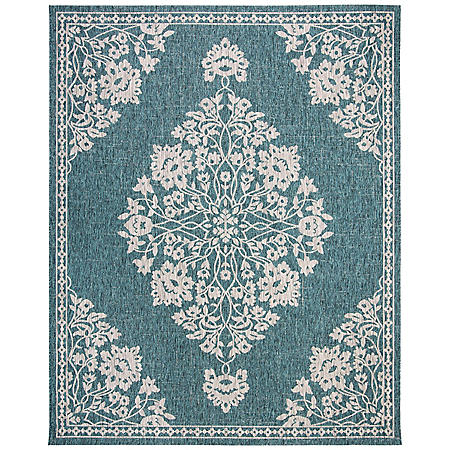 Resort 8' x 10' Rug Collection - Oriana Teal