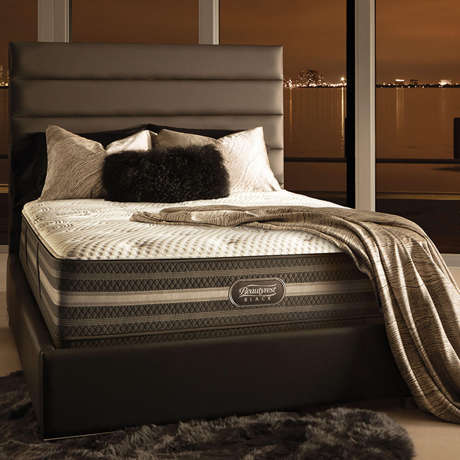 Beautyrest Black Desiree Firm King Mattress