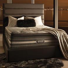 Beautyrest Black Natasha Plush Pillowtop King Mattress Set