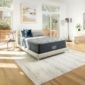 Beautyrest Silver Charcoal Coast Luxury Firm Pillowtop King Mattress