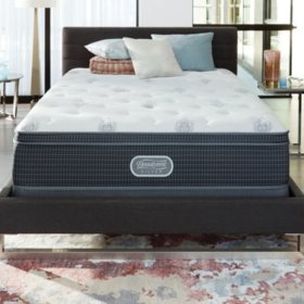 Beautyrest Silver Open Seas Luxury Firm Eurotop King Mattress