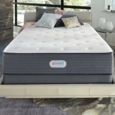 Beautyrest Platinum Linsdale Plush California King Mattress Set