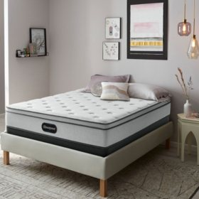 "Beautyrest BR800 Plush Eurotop 12"" Full Mattress"
