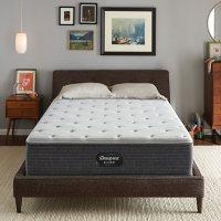 Beautyrest Silver Kayden Queen Plush Pillow Top Mattress Set