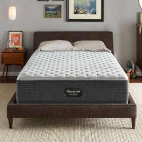Beautyrest Silver Dearborn Queen Extra Firm Mattress Set