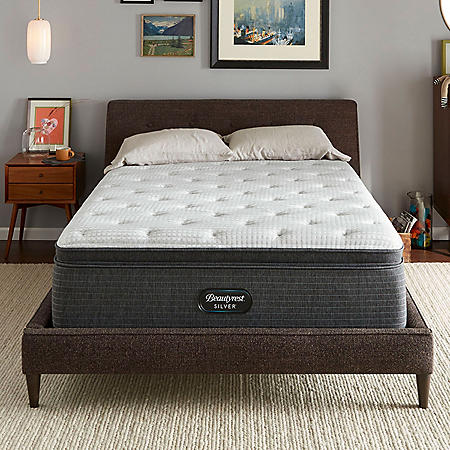 Beautyrest Silver Dearborn King Medium Pillow Top Mattress Set