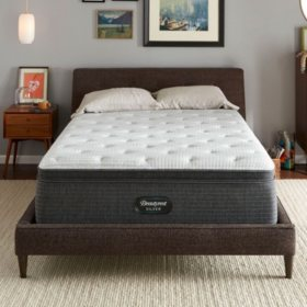 Beautyrest Silver Dearborn California King Medium Pillow Top Mattress Set