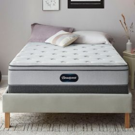 "Beautyrest BR800 Plush Eurotop 12"" Queen Mattress Set"