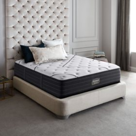 Beautyrest Black L-Class Queen Extra Firm Mattress Set
