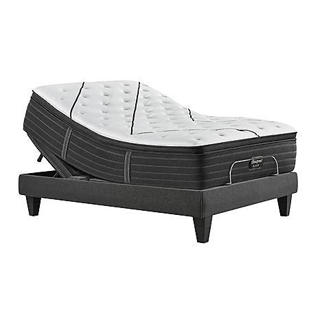 Beautyrest Black L-Class Medium Pillowtop California King Mattress and Luxury Base