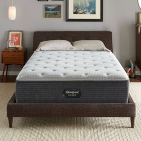 Beautyrest Silver Dearborn Queen Plush Mattress Set