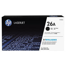 HP 26A, (CF226A) Original Toner Cartridge, Black