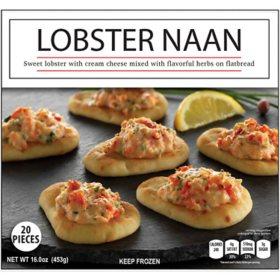 J. Scott Foods Lobster Naan, Frozen (20 ct.)