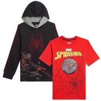 Licensed Boys' Spiderman 2pk T-Shirt