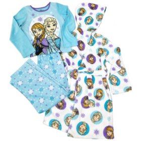 Character 3-Piece Fleece Pajama Set with Hooded Robe