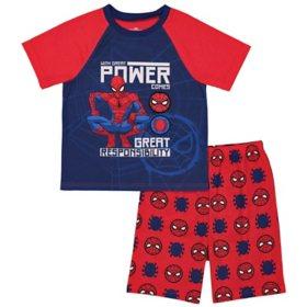 Licensed Boy's 2 Piece Pajama Set