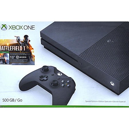 Xbox One S 500GB Battlefield 1 Special Edition Console Bundle
