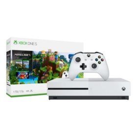 Xbox One S 1TB Minecraft Console Bundle