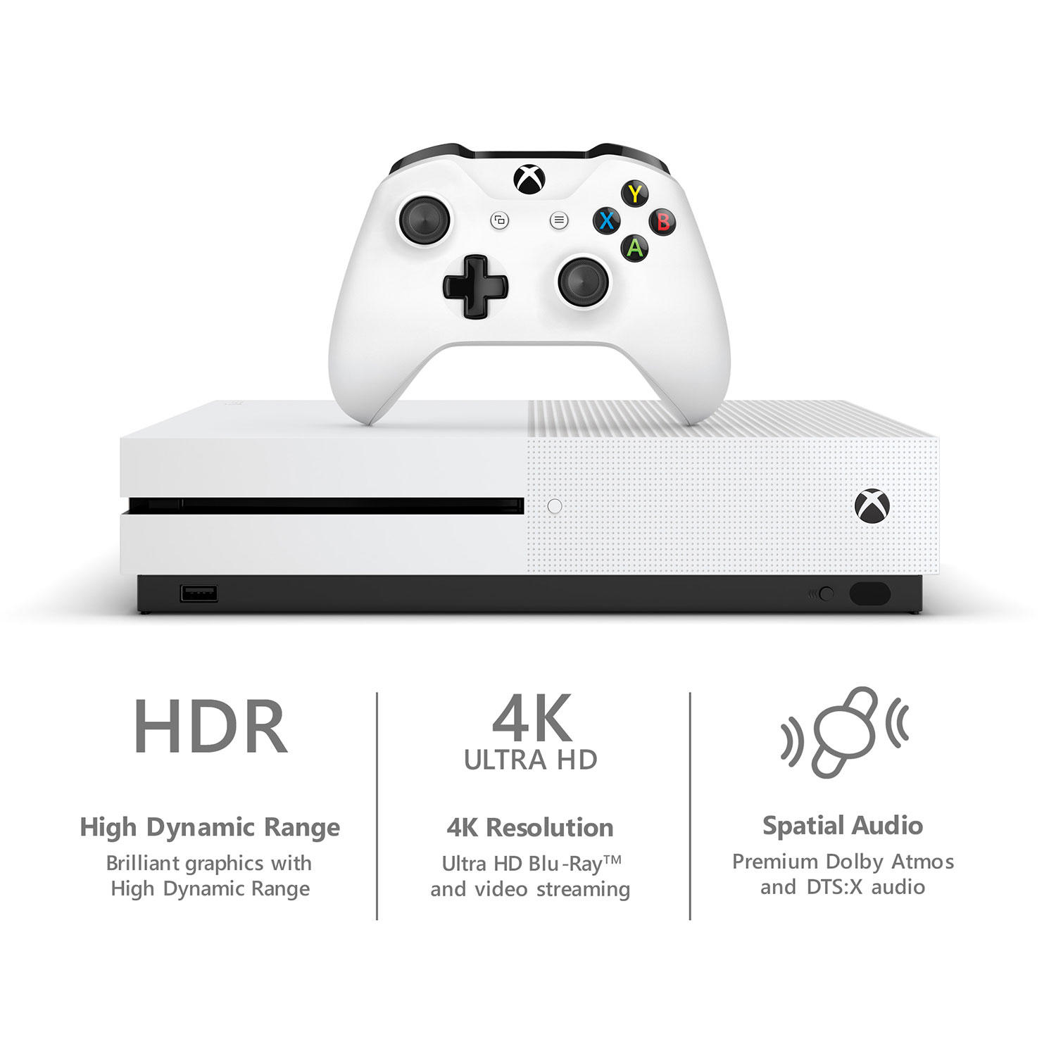 Xbox One S 1TB NBA 2K19 Console and Game Bundle