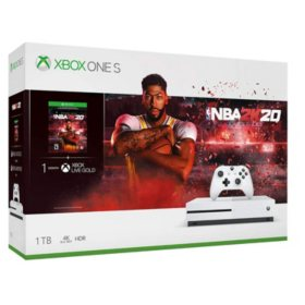 Xbox One S 1TB NBA 2K20