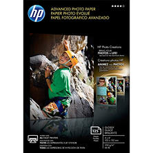 HP Advanced 4x6 Photo Paper 125 Sheets
