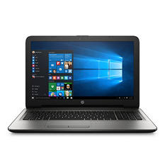 "HP 15-ba040nr 15.6"" HD Notebook, AMD A10-9600P, 8GB RAM, 1TB HDD, AMD Radeon R5 Graphics, Windows 10, turbo silver"