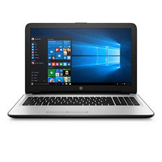 "HP 15-ba084nr 15.6"" HD Touchscreen Laptop, AMD Quad-Core A8-7410, 4GB RAM, 1TB HDD, Windows 10 Home, Silver"