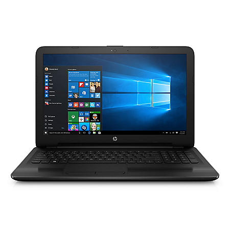 "HP HD 15.6"" Notebook, AMD A10-9600 Quad Core Processor, 8GB Memory, 1TB Hard Drive, SuperMulti DVD Burner, HD Webcam, Windows 10 Home"