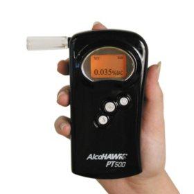 AlcoHawk PT500 Digital Breathalyzer