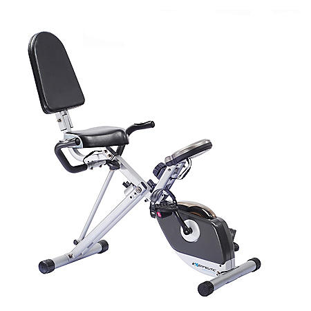 Exerpeutic 300SR Space Saver Recumbent Bike