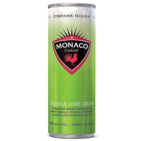 Monaco Cocktail Tequila Lime Crush (355 ml can, 4 pk.)