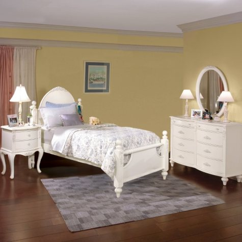 Holly Bedroom Set - Twin - 4 pc.