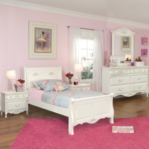 Rhyland Sleigh Bedroom Set - Twin - 4pc