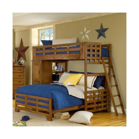 Pace Loft Bed Set - Twin & Full